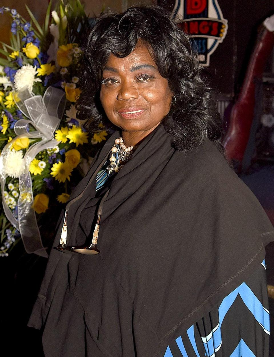 """Blues/gospel singer Ruby Wilson was a fixture on the Memphis music scene for more than 40 years and known as """"the queen of Beale street."""" She died Aug. 12 after suffering a heart attack. She was 68 years old. (Photo: Duffy-Marie Arnoult/Getty Images)"""