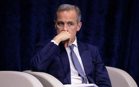 Mark Carney - Credit: Christophe Morin/Bloomberg