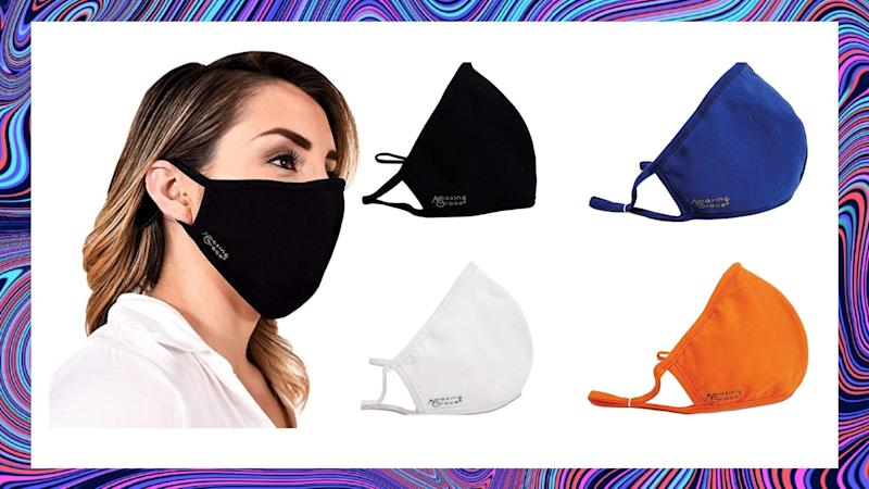 Amazon's Amazing Grace 4 pack of masks are on sale for only $29. Image via Amazon.