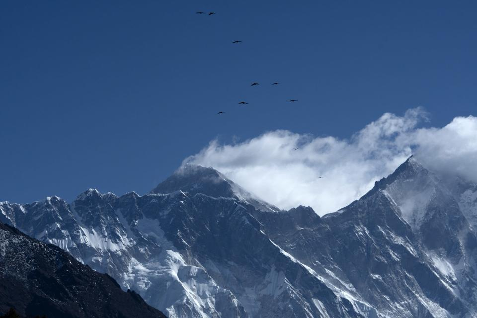 Traces of microplastics have been found close to the top of Everest, a study showed on November 20.