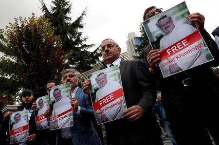 Newspaper says Turkey has audio of Saudi writer's slaying