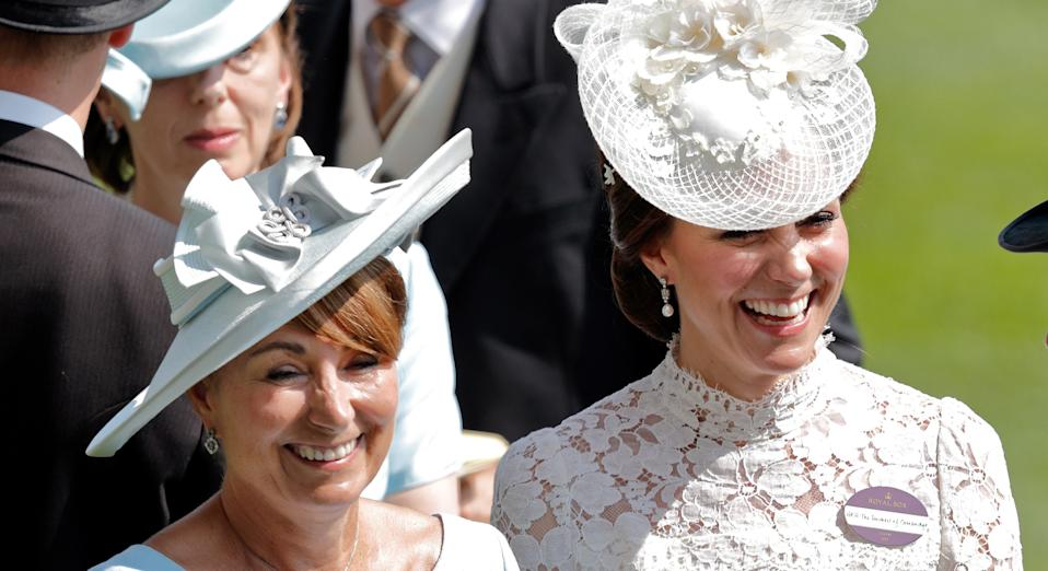 Kate Middleton has paid tribute to mum Carole with an unseen picture on Mother's Day [Image: Getty]