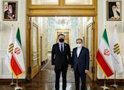South Korea's Deputy Foreign Minister Choi Jong-kun met with his Iranian counterpart Abbas Araghchi in Tehran in January, days after Iran's Revolutionary Guards seized the South Korean-flagged tanker Hankuk Chemi in Gulf waters (AFP/STRINGER)
