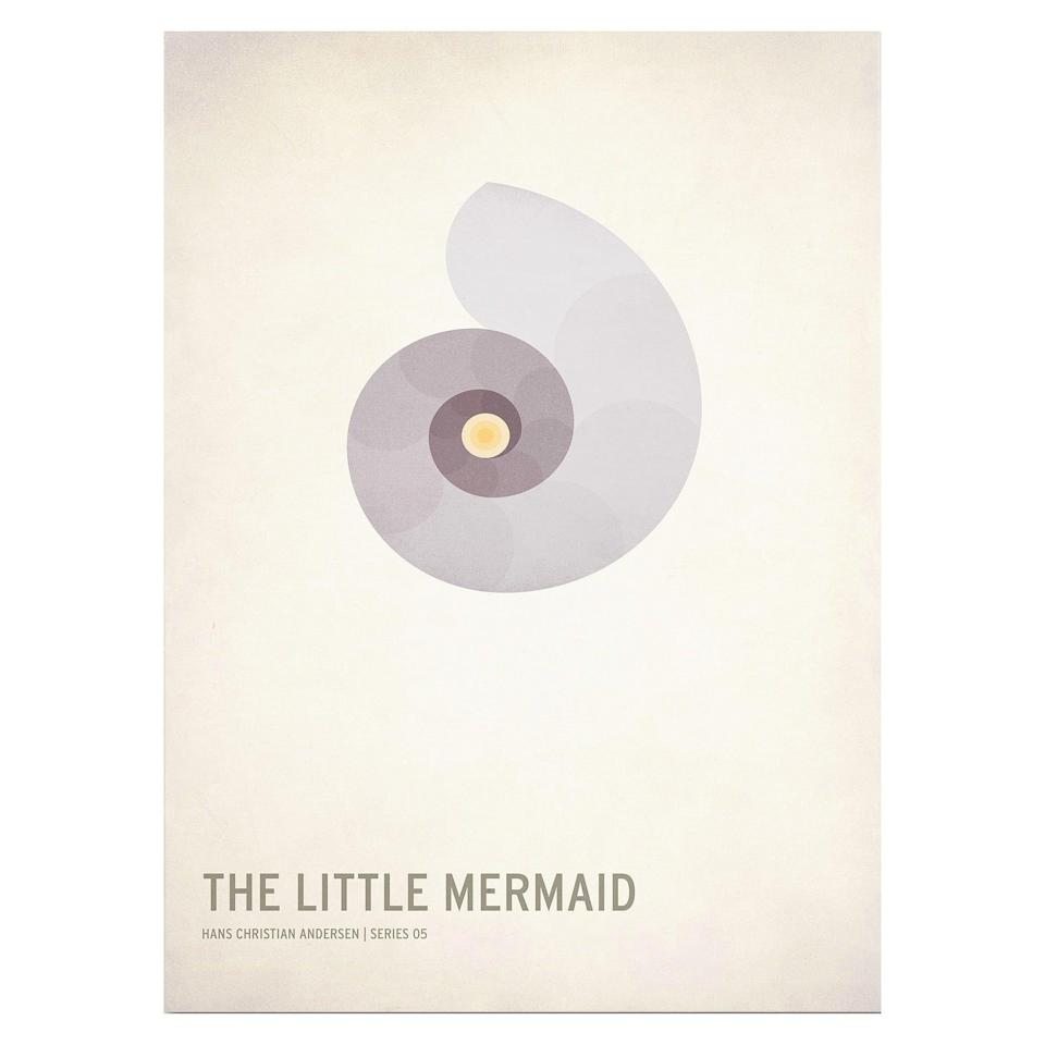 <p>Decorate their apartment walls with <span><strong>The Little Mermaid</strong> by Christian Jackson Wall Print</span> ($50).</p>