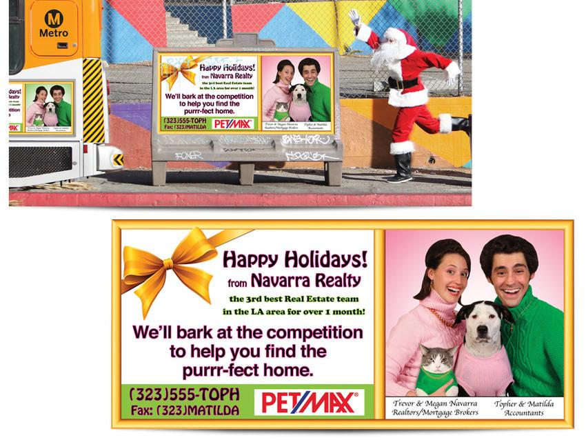 """<p>Nothing gets you in the spirit like festive junk mail. Creative director Trevor Navarra and his wife have set the Christmas card bar extremely high over the past 10 years. <i>(Photo: <a href=""""http://www.krop.com/trevornavarra/#/32569/"""">Trevor Navarra</a>)</i> </p>"""
