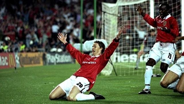 <p>The 'Baby-faced Assassin' is the last of the players just outside the 100 club and the Norwegian scored all of his 91 goals with Manchester United.</p> <br><p>Most-known for his stoppage time winner in the 1999 Champions league final victory over Bayern Munich, Solskjaer's role at Old Trafford was mostly as a 'super sub' and his record of 91 goals in 235 games is even better when you bear in mind that he spent a lot of the time starting from the bench.</p> <br><p>His most infamous moment was during a 1-1 with Newcastle when he ran the length of the pitch to commit a professional foul on Rob Lee and deny the Geordies a winning goal - an act he was applauded off the pitch for after being red carded. </p>