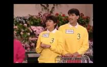 <p>The bright colored sweatshirts with collared shirts underneath were soo '90s but unfortunately they are faux collars. Former contestant Futia, explained to <em>The A.V. Club</em> that the ensemble is actually a sweater and dickey collar combination.</p>