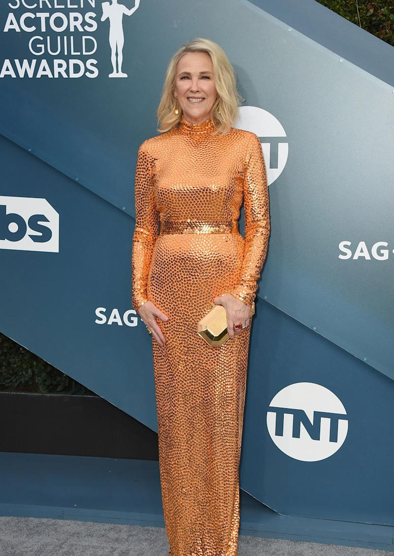 Catherine O'Hara arrives at the 26th annual Screen Actors Guild Awards at the Shrine Auditorium & Expo Hall on Sunday, Jan. 19, 2020, in Los Angeles. (Photo by Jordan Strauss/Invision/AP) (Photo: Jordan Strauss/Invision/AP)