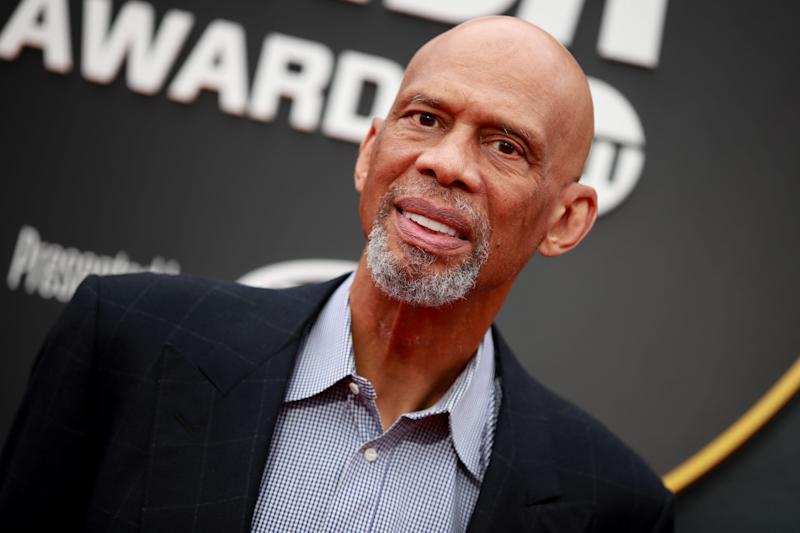 Kareem Abdul-Jabbar attends the 2019 NBA Awards on June 24, 2019 in Santa Monica, California.