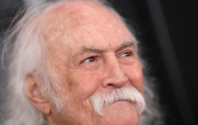 David Crosby arrives at the 62nd Annual Grammy Awards in 2020