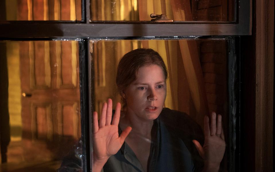 Amy Adams plays an unreliable agoraphobic who believes her neighbour has been murdered - Netflix