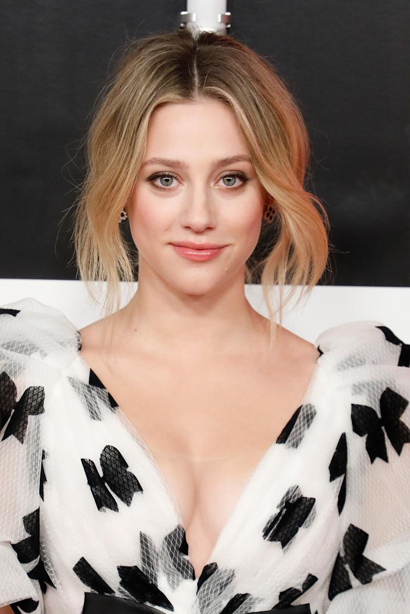 Lili Reinhart Has the Easiest Trick For a No-Commitment Bob