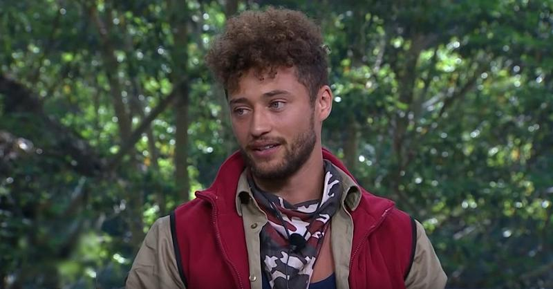 Myles Stephenson in 'I'm a Celebrity... Get Me Out of Here!' (ITV)