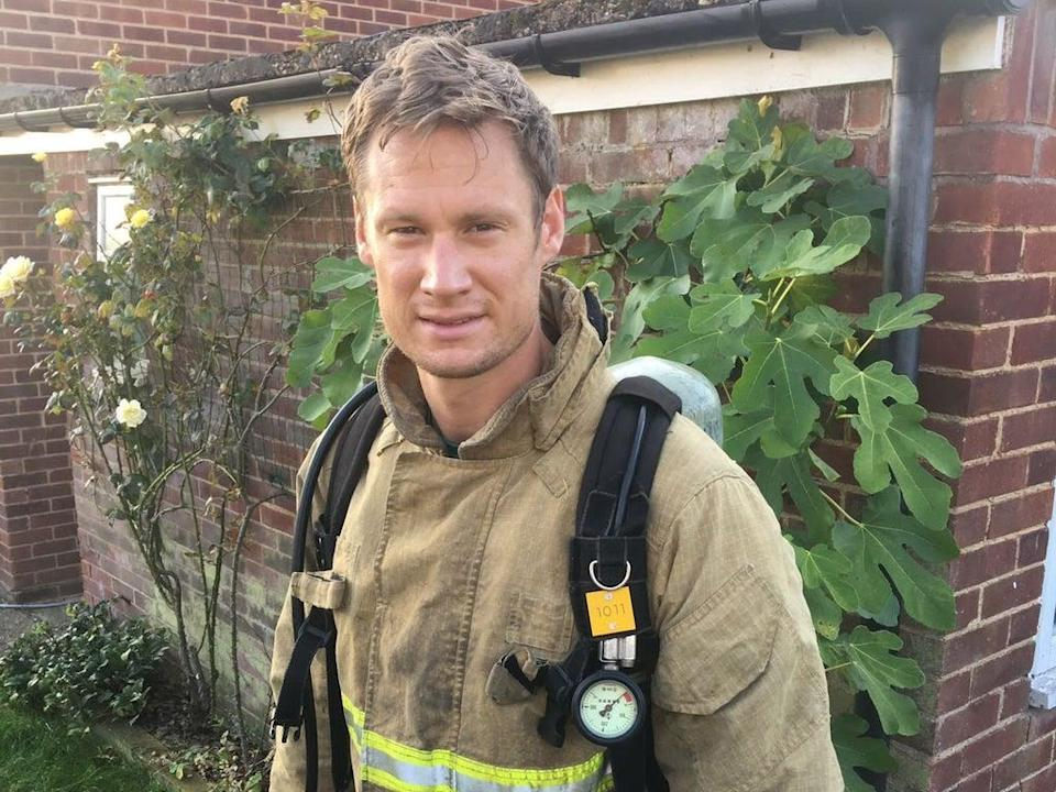 Nick Middleton (The Fire Fighters Charity/PA)