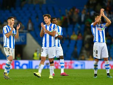 LaLiga: Real Sociedad latest leader of topsy-turvy league after 1-1 draw at home against Leganes