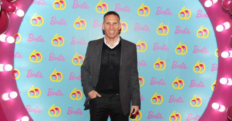 Ynon Kreiz, CEO of Mattel, Inc., attends Barbie's 60th Anniversary in New York City.