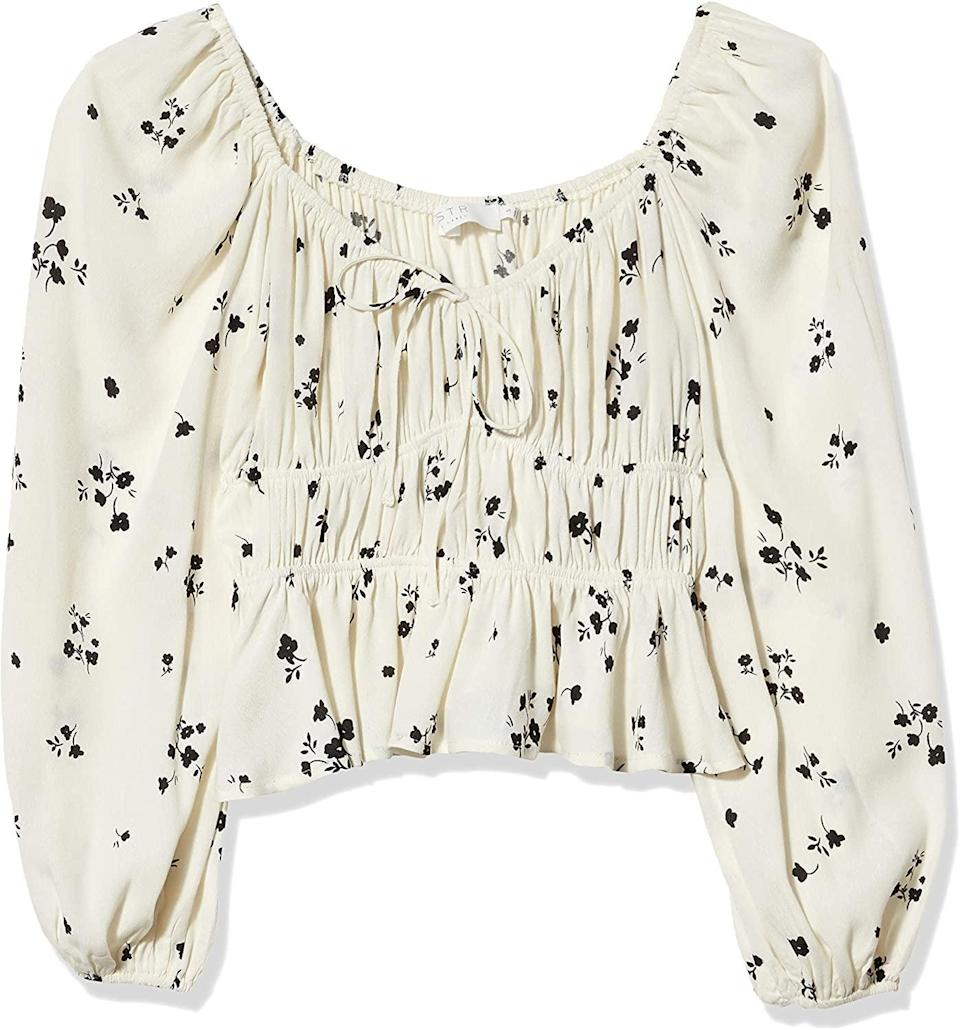 <p>Wow, this <span>ASTR the Label Floral Top</span> ($48) is an awesome find.</p>