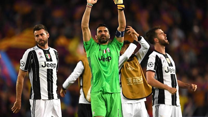 Buffon reaches Champions League century with Juventus