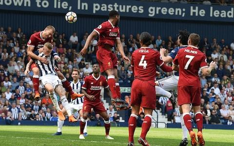 liv vs west brom - Credit: GETTY IMAGES