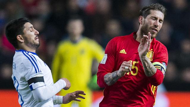 Spain will have to make do without Gerard Pique after the 2018 World Cup, but they can take solace in Sergio Ramos keeping himself available