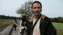 <p> The immediate follow-up to &#x201C;A&#x201D; does not mess around. In the space of an hour, &quot;No Sanctuary&quot; squeezes in more fist-pumping moments and fan-favourite reconciliations than most seasons achieve in 13 episodes. </p> <p> Rick is reunited with Judith, Carol completes her transformation into rock hard heroine, and the group takes down the cannibals who held them captive at the tail-end of season 4. It&#x2019;s an episode filled with action but, unlike some later seasons, all of it is meaningful as it adds extra dimensions to each character. </p> <p> While the fifth season would eventually falter somewhat by the time the survivors reach Alexandria, &quot;No Sanctuary&quot; races out of the blocks and proved that, in a packed Peak TV landscape that, at the time, included the likes of Game of Thrones and Mad Men, The Walking Dead could still slug it out with the best of them. </p>