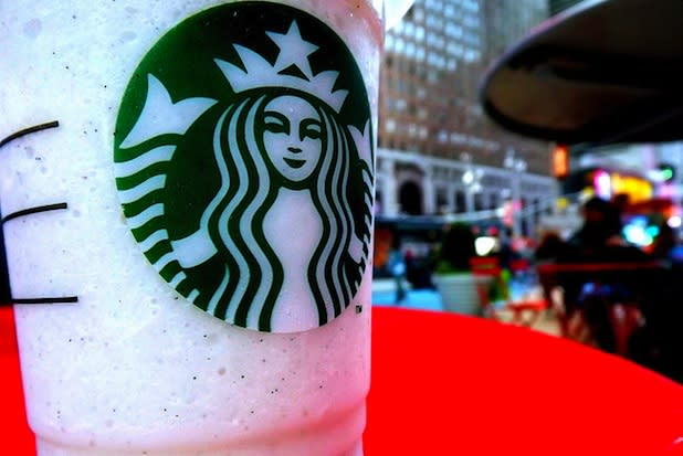 """<div class=""""caption-credit""""> Photo by: Credit: Flickr/heykellieee</div><div class=""""caption-title"""">Banana Cream Pie Frappuccino</div>According to an anonymous The Daily Meal commenter, """"At our store (licensed), my favorite drink is a Vanilla Bean [Creme Frappuccino] with vanilla [and] hazelnut [syrups], whipped cream, and a whole banana. But I am prepared to pay the $6 for a grande and I don't call it out or refer to it as a Banana Cream Pie, which is what it tastes like and the nickname it has acquired."""" <br>"""