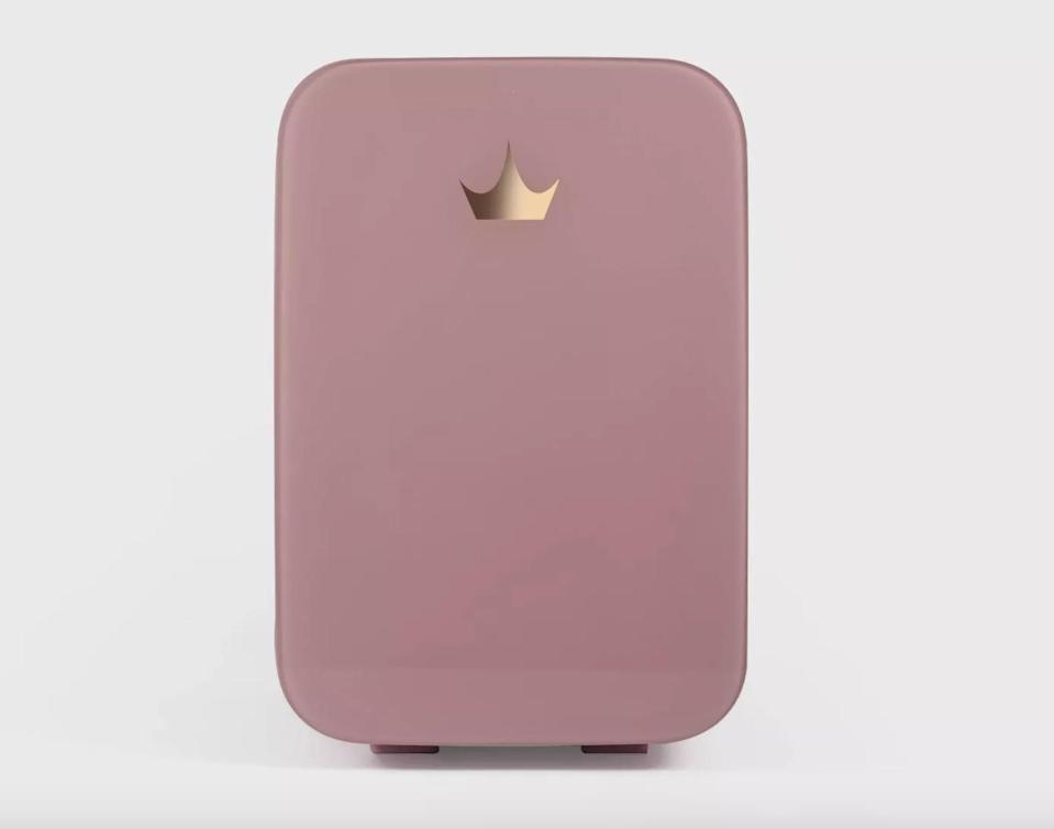 <p>This adorable pink thermoelectric cooling <span>Disney Princess X POPSUGAR Beauty Fridge</span> ($80) can store their skin-care products at the perfect temperature, from jade rollers to face masks, eye gels, and serums.</p>