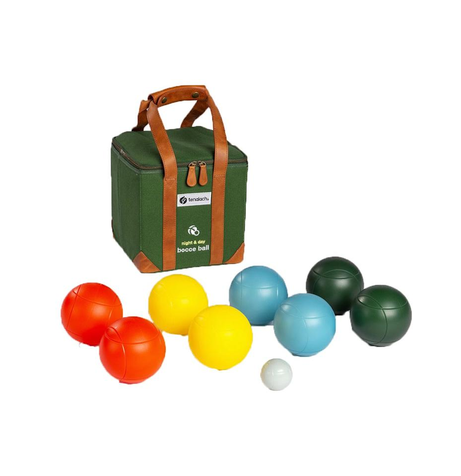 "<p>Don't let sunset creeping earlier and earlier cut outdoor time short. This bocce ball kit has LED bocce balls, so you can play until after sunset without worrying about losing anything in the dark.</p> <p><strong>To buy: </strong>$150; <a href=""https://tenalach.com/collections/outdoor-games/products/night-day-bocce-ball"">tenalach.com.</a></p>"