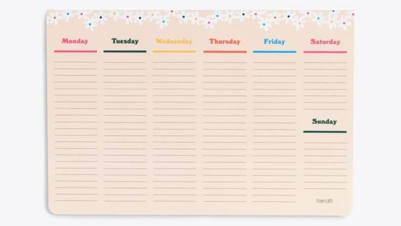 The best way to write down your plans