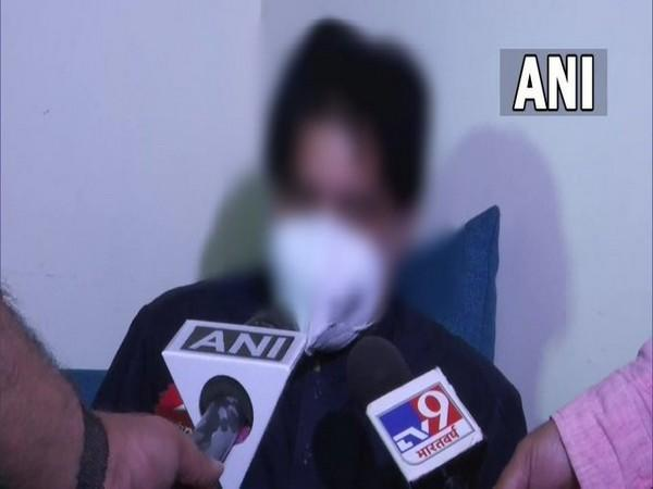 Indian national who arrived in New Delhi on Tuesday