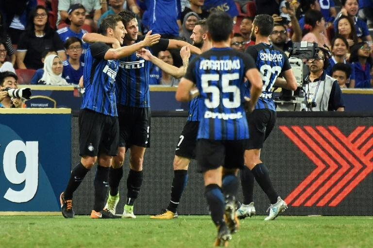 United target Perisic steals show in surprise Inter win