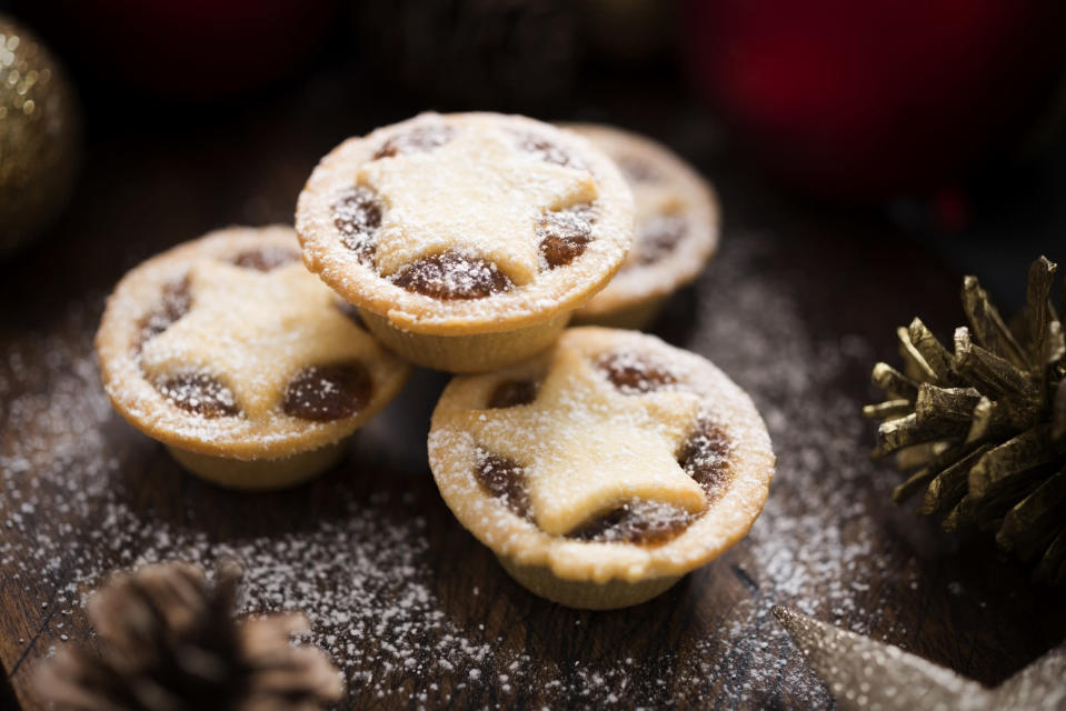 We know where we'll be buying our mince pies this year… [Photo: Getty]