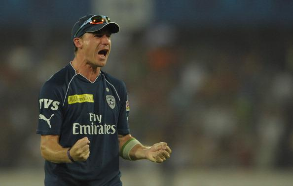 Deccan Chargers bowler Dale Steyn who to : News Photo