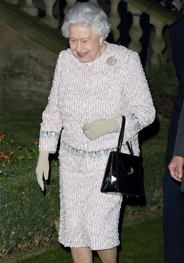 The Queen loves talking walks around the palace when she struggles to sleep. Photo: Getty Images