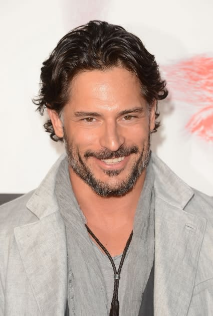 Joe Manganiello arrives at the premiere of HBO 'True Blood' Season 5 premiere held at ArcLight Cinemas Cinerama Dome, Hollywood, on May 30, 2012 -- Getty Images