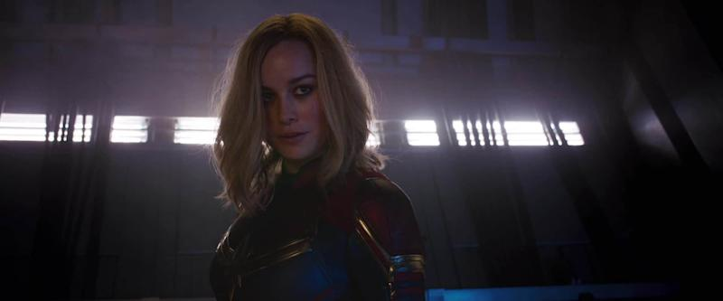 Brie Larsen as Captain Marvel