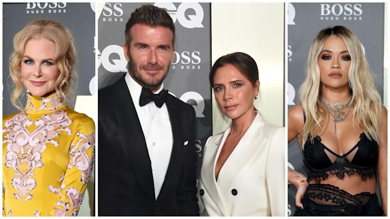 Nicole Kidman, David and Victoria Beckham & More Standout Looks From the British GQ Men of the Year Awards
