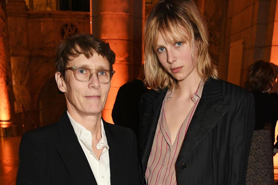<p>Sophie Hicks with her daughter Edie Campbell</p> (Dave Benett)
