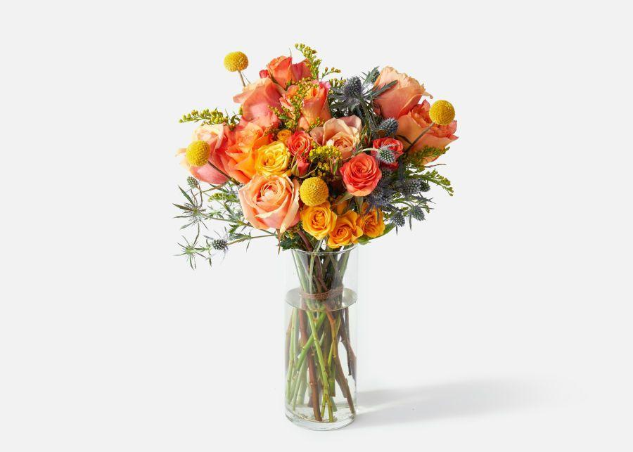 """<p><strong>plants</strong></p><p>urbanstems.com</p><p><strong>$70.00</strong></p><p><a href=""""https://go.redirectingat.com?id=74968X1596630&url=https%3A%2F%2Furbanstems.com%2Fproducts%2Fflowers%2Fthe-firecracker%2FFLRL-B-00025.html&sref=https%3A%2F%2Fwww.townandcountrymag.com%2Fleisure%2Farts-and-culture%2Fg23837569%2Fthanksgiving-flower-arrangements-ideas%2F"""" rel=""""nofollow noopener"""" target=""""_blank"""" data-ylk=""""slk:Shop Now"""" class=""""link rapid-noclick-resp"""">Shop Now</a></p><p>For an earthy and rustic vibe, try a flower arrangement that has copious amounts of green with some lighter petal shades, like a pale peach.</p>"""