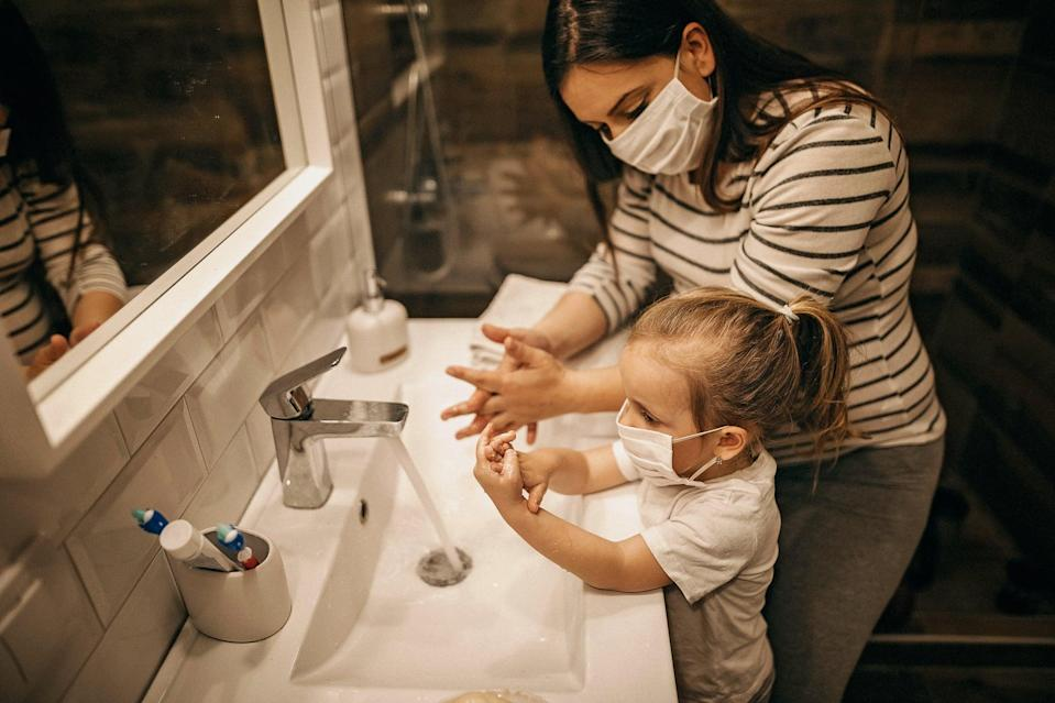"""<p>Even with all those issues addressed – your child has a mask that fits, and they understand how and why to use it – many kids continue to struggle with wearing masks effectively.</p> <p>Among her early-elementary-aged students, the most common missteps Solomon has witnessed is touching, tugging, and fidgeting with masks, or even removing them at the moments they need to wear them most.</p> <p>""""I see a lot of kids pulling their masks down below their mouth when they want to speak and then covering their mouth back up when they are done speaking,"""" Solomon said. """"Children are having a hard time being heard and also understanding what other people are saying. Masks take away our ability to lip-read, which even when there is no hearing loss, is something we all use without being aware.""""</p> <p>She also noted that a quarter of her students suck or chew on their masks. """"When children inhale, some masks are sucked in to the point of touching there lips,"""" she explained. """"Once the fabric touches their lips, it's tempting to stick their tongue out.""""</p> <p>This happens even more with young kids, who have a pre-existing gustatory tenancy to explore materials – like toys – with their mouths, but older kids aren't immune to this habit. """"Children who are starting to lose teeth and grow adult teeth often salivate more and may accidentally spit while talking. This will get their mask wet. And to top it off, it's allergy season so even without COVID, kids are sneezing and have runny noses.""""</p> <p>Related: <a href=""""https://www.popsugar.com/family/breathable-face-masks-for-kids-47524148?utm_medium=partner_feed&utm_source=smartnews&utm_campaign=related%20link"""" rel=""""nofollow noopener"""" target=""""_blank"""" data-ylk=""""slk:These Lightweight Masks For Kids Won&apos;t Make You Choose Between Safety and Comfort"""" class=""""link rapid-noclick-resp"""">These Lightweight Masks For Kids Won&apos;t Make You Choose Between Safety and Comfort</a></p> <p>Her recommendation is to think of it like brushing teeth"""