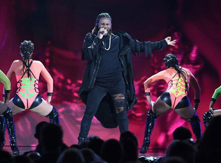 Jason Derulo performs onstage during the 2017 Billboard Music Awards