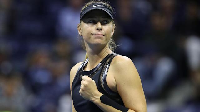 Amid questions over the scheduling of her US Open matches, Maria Sharapova said she would happily play in a parking lot.