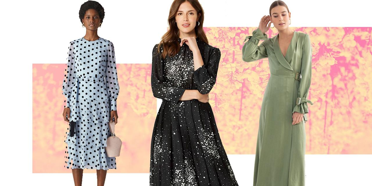 <p>Knowing what to wear to a wedding isn't always easy, so we're here to help with our pick of the best wedding guest dresses for summer. It might only be a few months before the big day, but there's no harm in shopping early to grab the best dresses before the sell out - which they definitely will. Whether you're looking for a minimal style or something that stands out, we've got you covered for your upcoming weddings. </p><p>Happy browsing...<br></p>