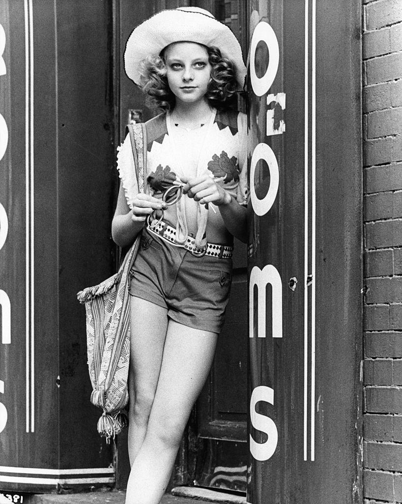 Jodie Foster in a scene from the film 'Taxi Driver', 1976