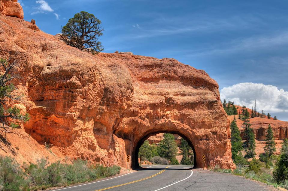 """<p>Travel through Bryce Canyon and Capitol Reef for <a href=""""https://utah.com/scenic-drive/highway-12-byway"""" rel=""""nofollow noopener"""" target=""""_blank"""" data-ylk=""""slk:some of the most beautiful scenery"""" class=""""link rapid-noclick-resp"""">some of the most beautiful scenery</a> you'll ever see in the state of Utah. You'll get to take in mountains and canyons, colorful rocks, lush forests, and quaint little towns rich with history. Catch a sunset or sunrise along the way for a memorable experience.</p>"""