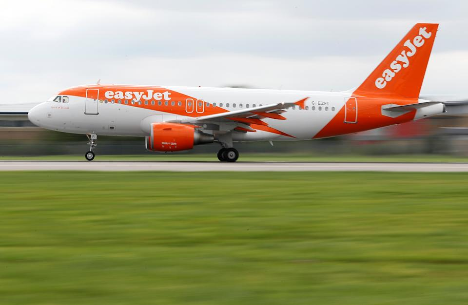 EasyJet also announced plans to raise £1.2bn from shareholders in an attempt to help the firm weather the pandemic after its first annual loss in 25 years in 2020. Photo: Peter Nicholls/Reuters