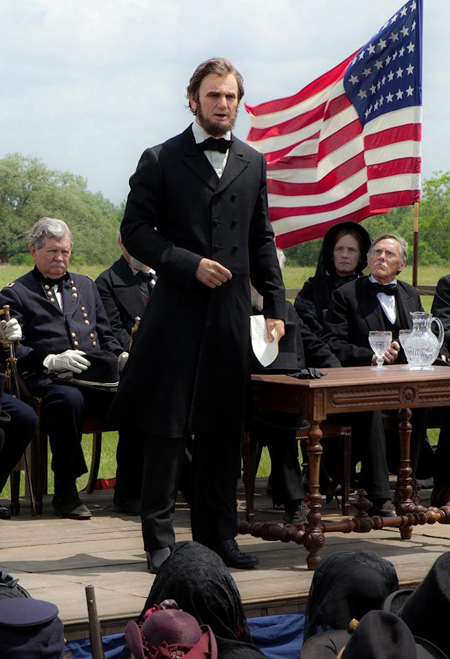 "Benjamin Walker as Abraham Lincoln in the upcoming 2012 release ""Abraham Lincoln: Vampire Hunter"""