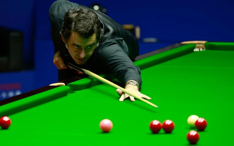 Ronnie O'Sullivan has beaten Ding Junhui to reach the quarter-finals - GETTY IMAGES