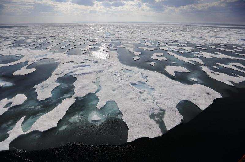 Research published in Science on Jan. 10 linked ocean warming to more rain, increased sea levels, coral reef destruction, declining ocean oxygen levels and declines in ice sheets, glaciers and ice caps in polar environments. (ASSOCIATED PRESS)