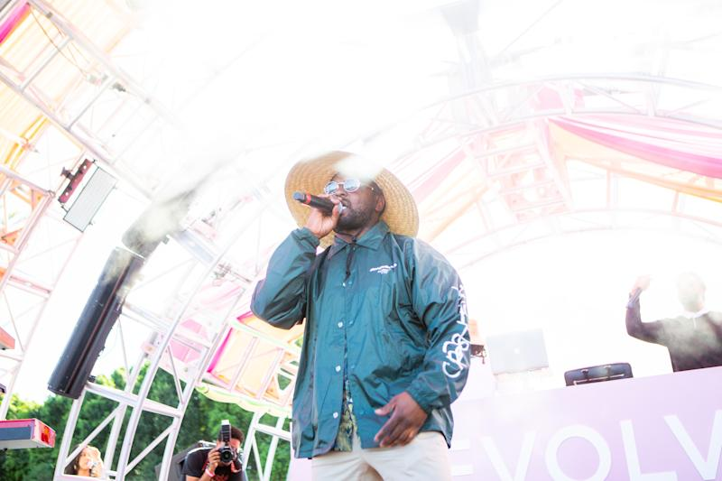 Schoolboy Q performs at the Revolve Festival in La Quinta, California, during weekend one of Coachella on Saturday, April 13, 2019. Photograph by Alex Welsh for W magazine.